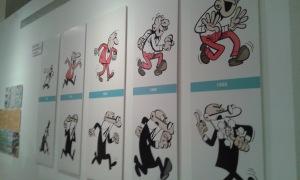 Evolución Mortadelo y Filemón.